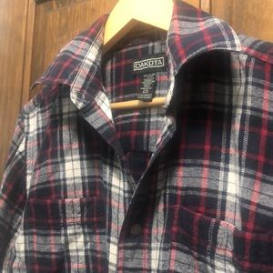 Dakota vintage plaid shirt